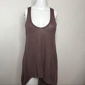 Zara Knit Sleeveless Tunic Size Small